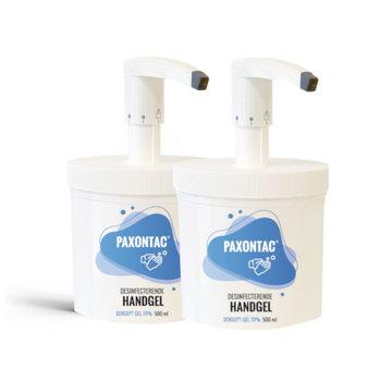Paxontac Desinfecterende Handgel - 500 ml 2x met pomp - Hervulbare verpakking | Paxontac