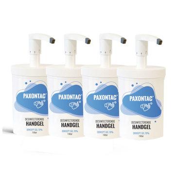 Paxontac Desinfecterende Handgel - 1000 ml 4x met pomp - Hervulbare verpakking | Paxontac