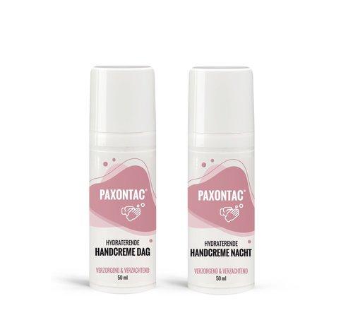 Paxontac Paxontac Hydraterende Handcrème Dag & Nacht - Ureum en AQUAXYL™ Formule Hydraterende Handcrème Nacht Met Ureum en AQUAXYL™ Formule | 30% Meer Hydratatie
