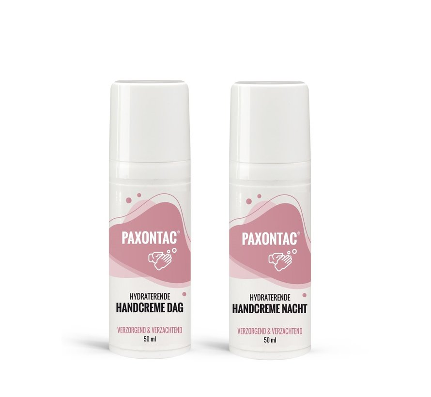 Paxontac Hydraterende Handcrème Dag & Nacht - Ureum en AQUAXYL™ Formule Hydraterende Handcrème Nacht Met Ureum en AQUAXYL™ Formule | 30% Meer Hydratatie