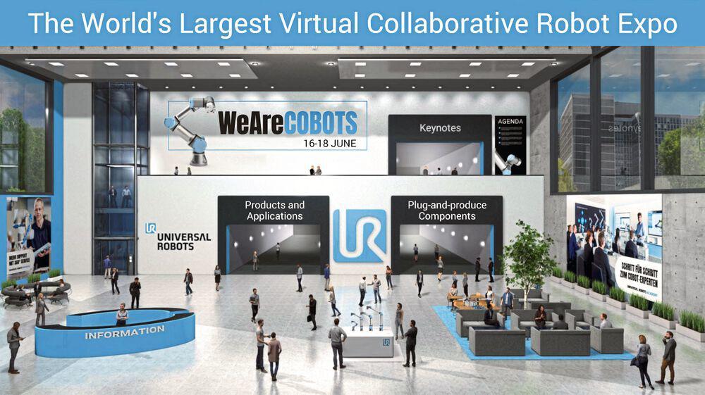 WeAreCobots - Die weltweit grösste virtuelle Messe für Cobots!