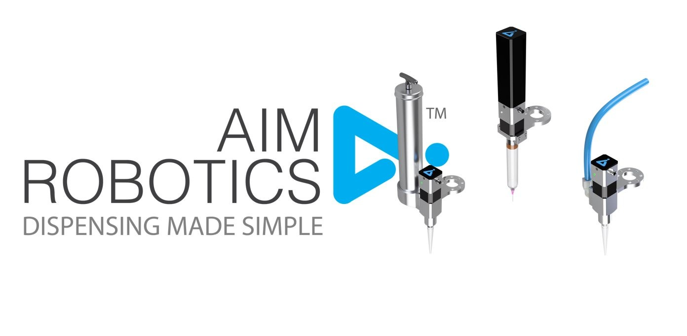 Einfachstes Dispensen und Auftragen mit AIM Robotics