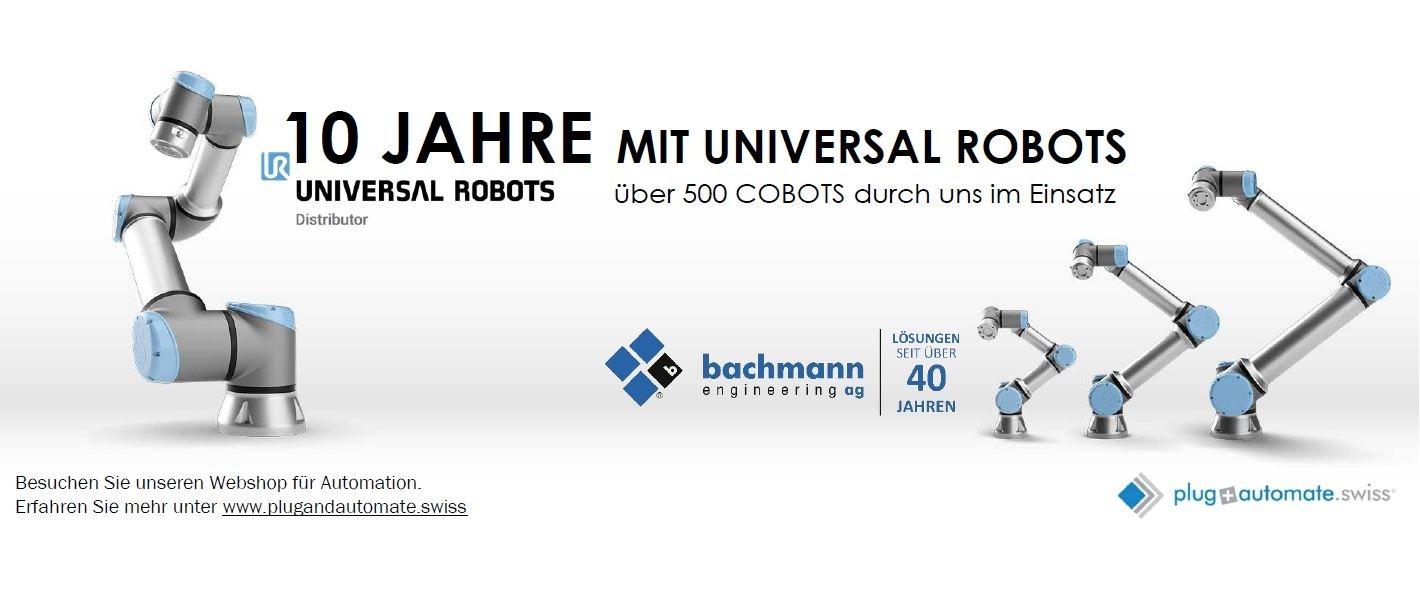 WIR FEIERN 10 JAHRE MIT UNIVERSAL ROBOTS!