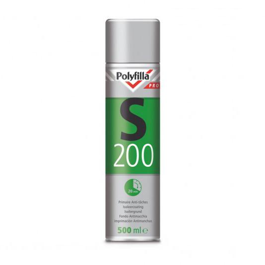 Polyfilla S200 isoleerspray Spuitbus 500 ml