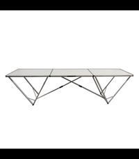Huismerk Behangtafel Aluminium - 3 m