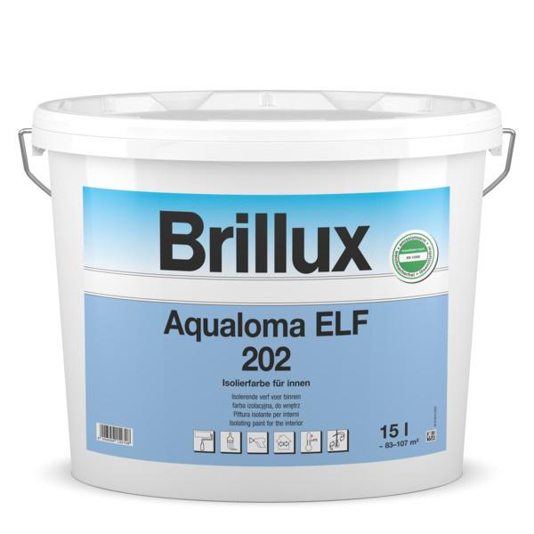 Brillux Aqualoma ELF 202 5 Liter 100% Wit
