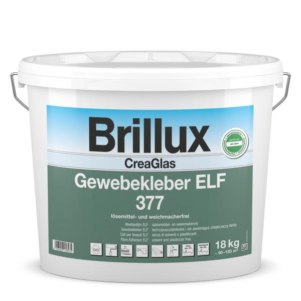 Brillux CreaGlas Weefsellijm ELF 377 - 18 kg 18 kg - Transparant