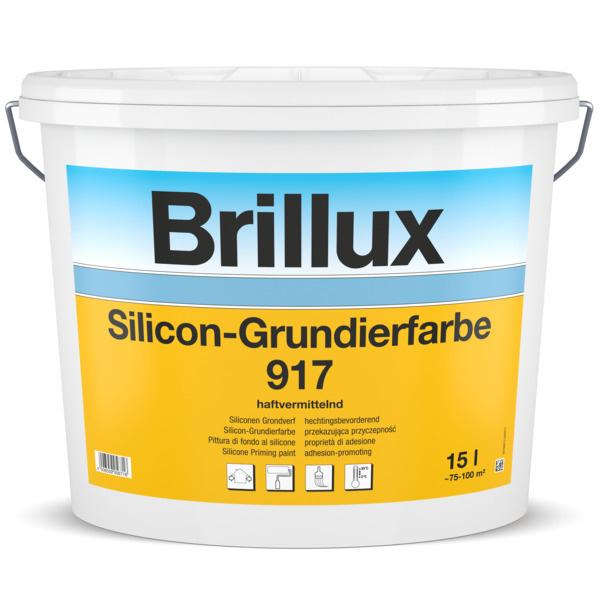 Brillux Siliconen-Grondverf 917 15 Liter 100% Wit