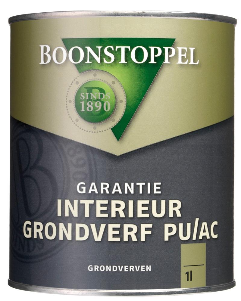 Boonstoppel Garantie Interieur Grondverf PU/AC 1 Liter 100% Wit