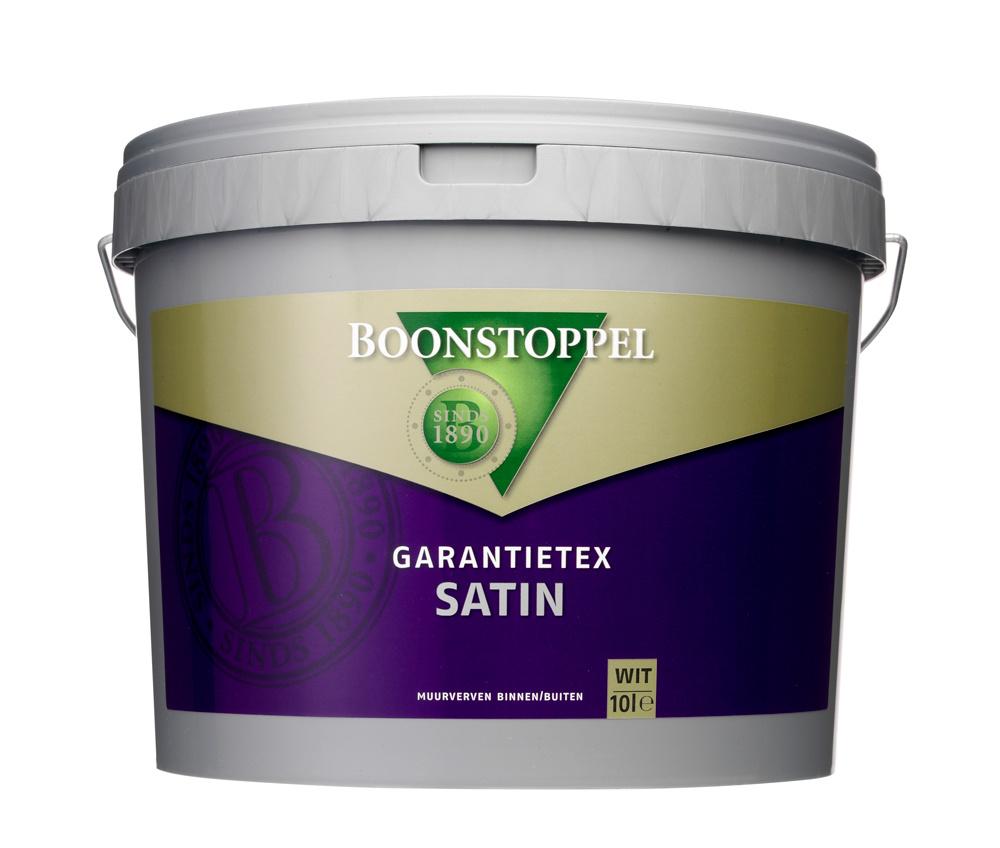 Boonstoppel Garantietex Satin 10 Liter 100% Wit