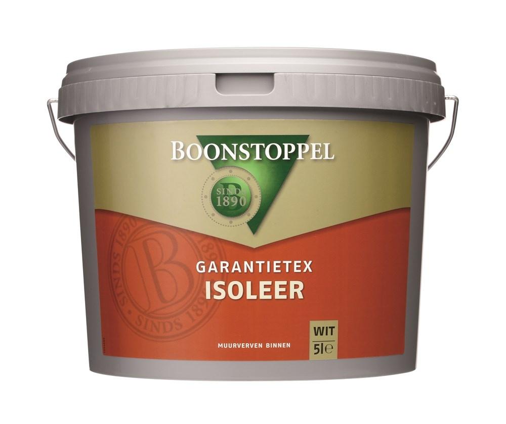 Boonstoppel Garantietex Isoleer 5 Liter 100% Wit
