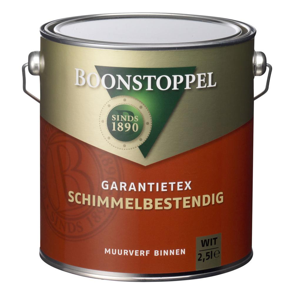 Boonstoppel Garantietex Schimmelbestendig 2,5 Liter 100% Wit