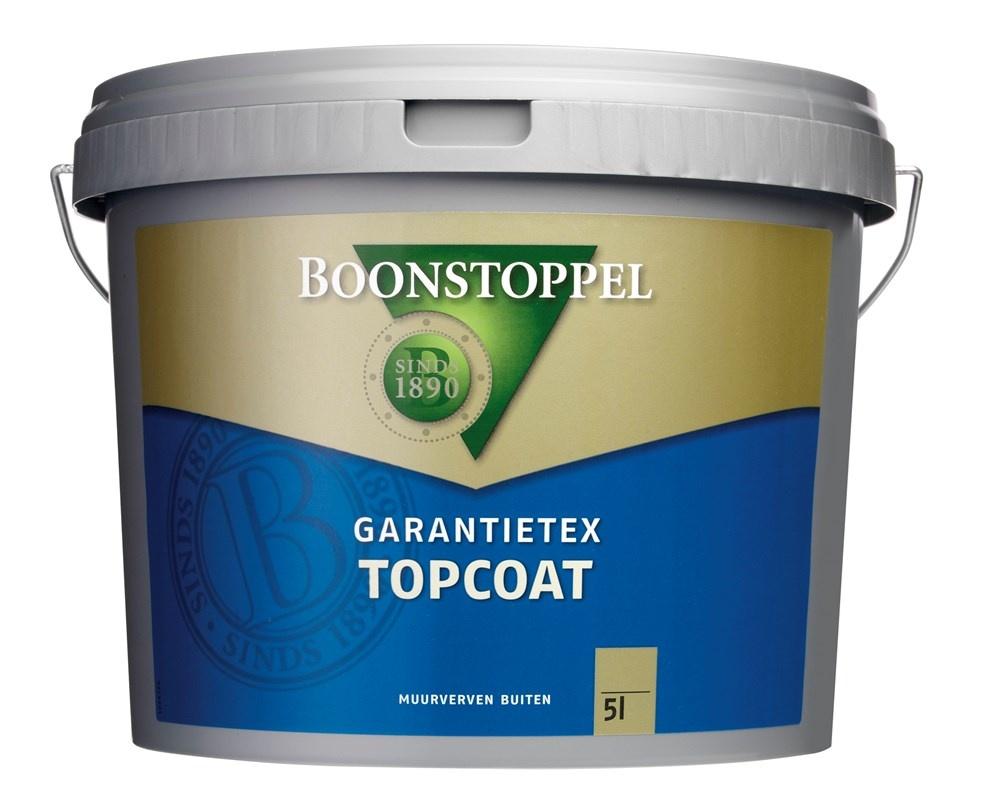 Boonstoppel Garantietex Topcoat 5 Liter op Kleur (alleen donkere kleuren)