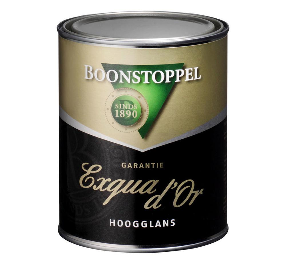 Boonstoppel Garantie Exqua d'Or Hoogglans 1 Liter 100% Wit