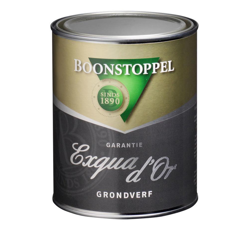 Boonstoppel Garantie Exqua d'Or Grondverf 1 Liter 100% Wit