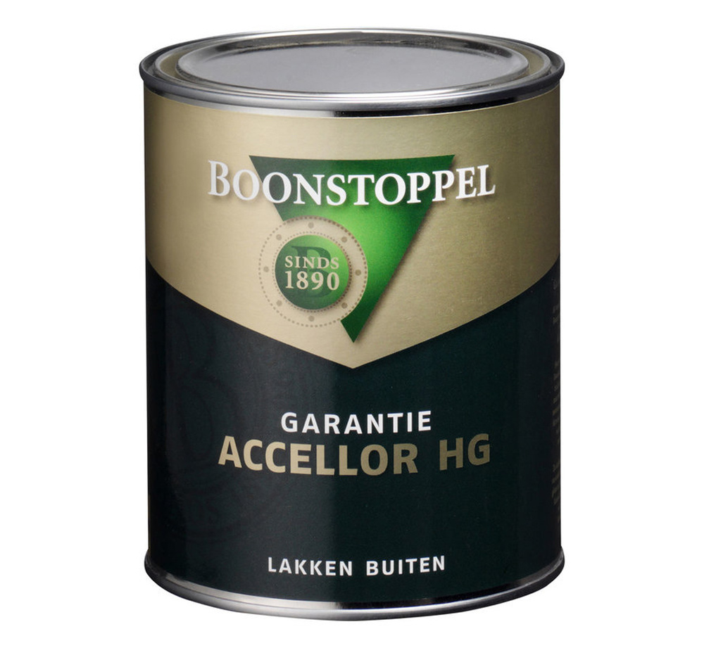 Boonstoppel Garantie Accellor HG 1 Liter 100% Wit