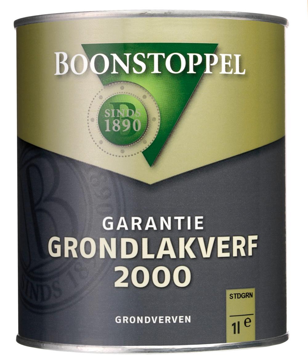 Boonstoppel Garantie Grondlakverf 2000 1 Liter 100% Wit