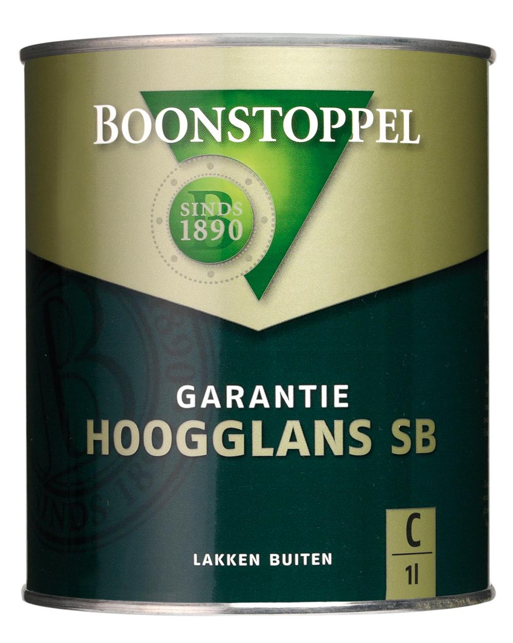Boonstoppel Garantie Hoogglans SB 0,5 Liter 100% Wit