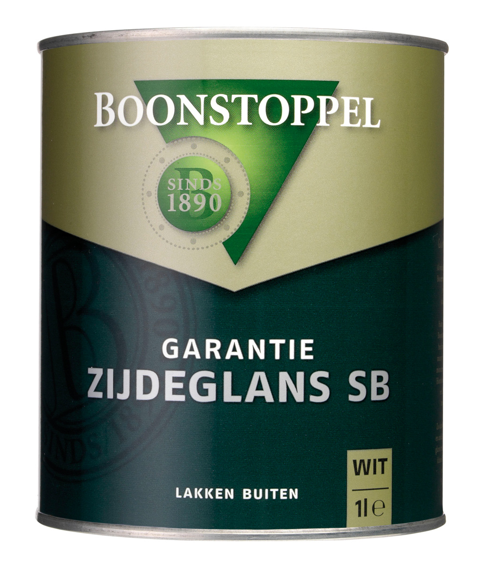 Boonstoppel Garantie Zijdeglans SB 1 Liter 100% Wit