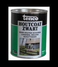 Tenco Tenco Houtcoat Zwart