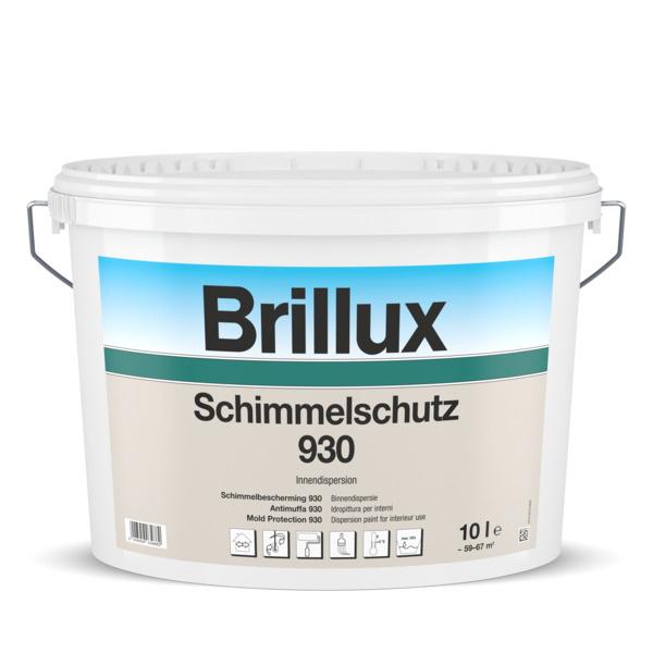 Brillux Schimmelschutz 930 2,5 Liter 100% Wit