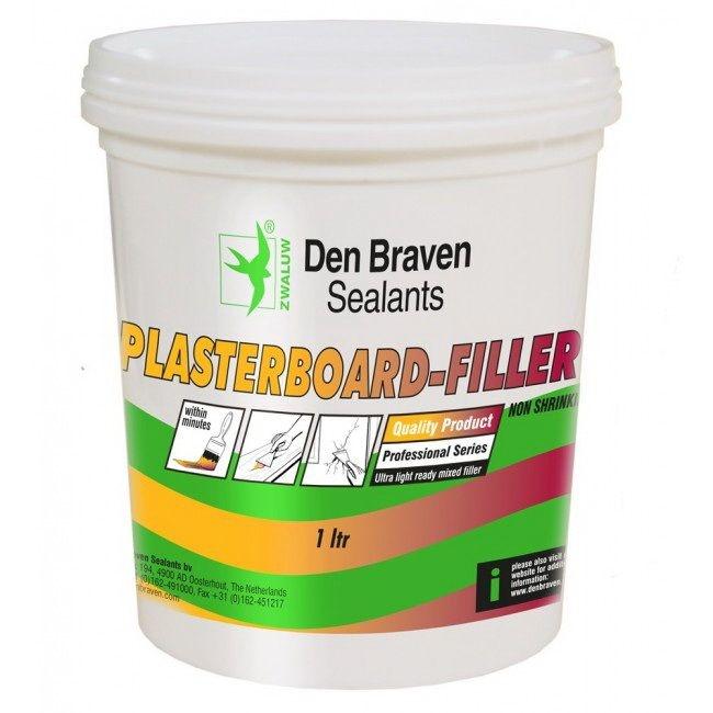 Den Braven Zwaluw Plasterboard-Filler 1 Liter