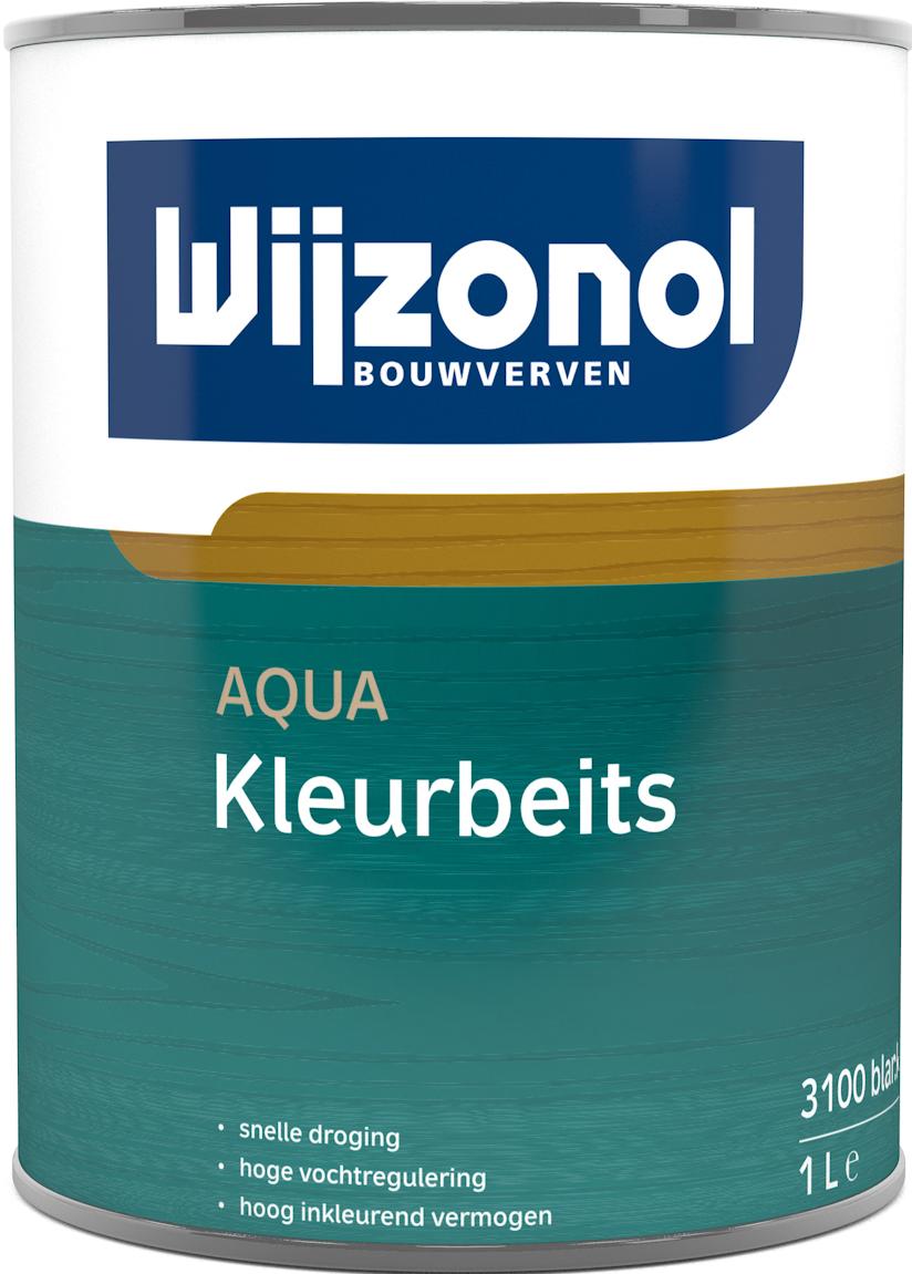 Wijzonol Aqua Kleurbeits 1 Liter op Kleur