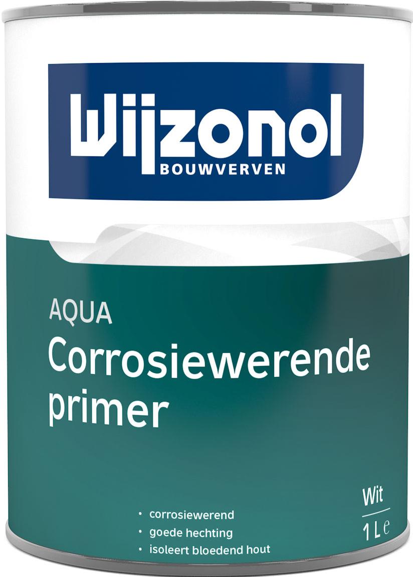 Wijzonol AQUA Corrosiewerende Primer 1 Liter 100% Wit