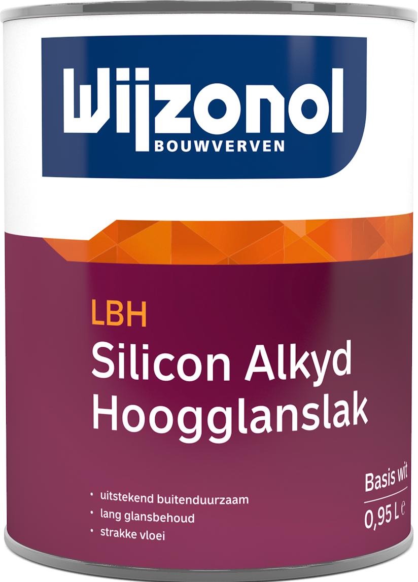 Wijzonol LBH Silicon Alkyd Hoogglanslak 0,5 Liter 100% Wit