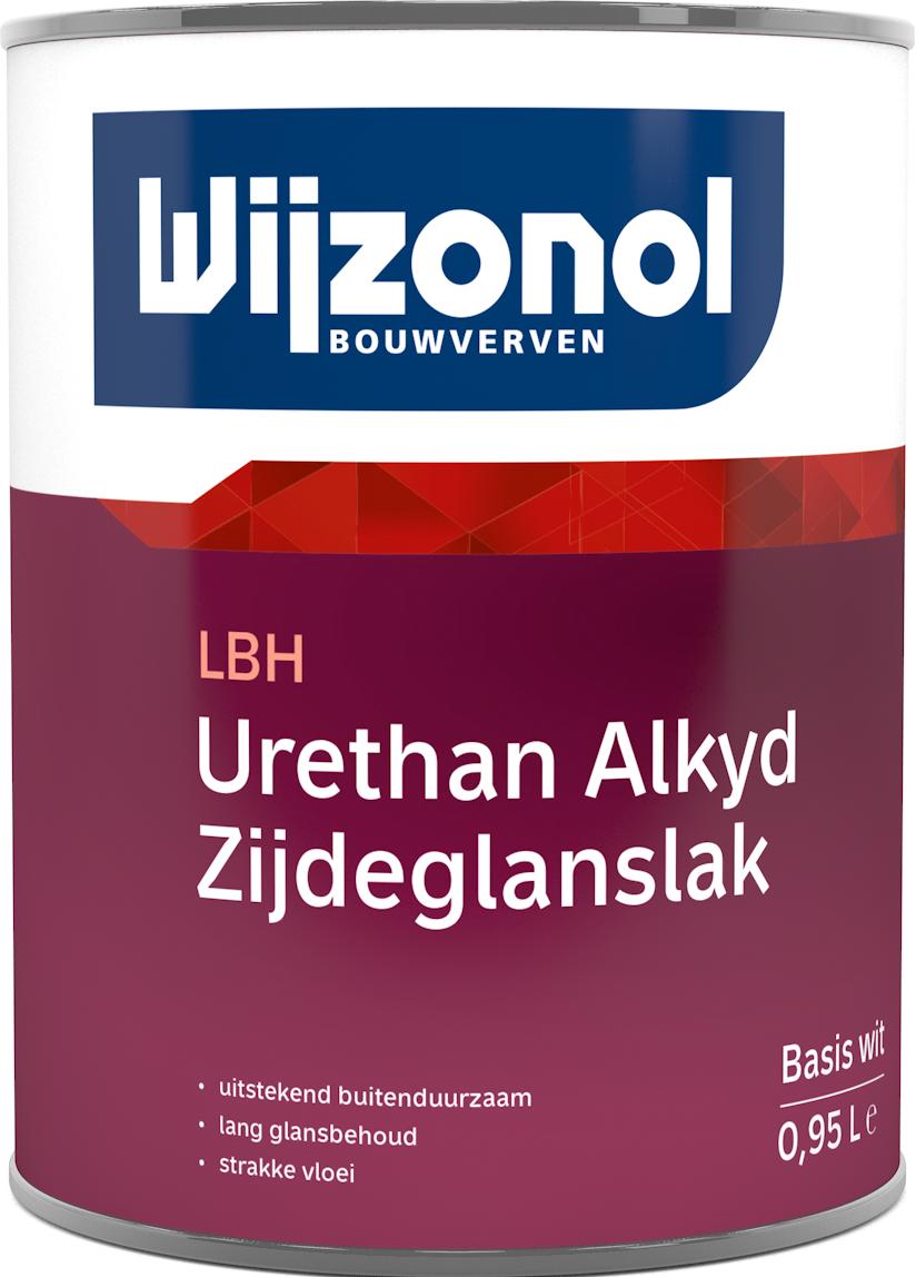 Wijzonol LBH Urethan Alkyd Zijdeglanslak 0,5 Liter 100% Wit