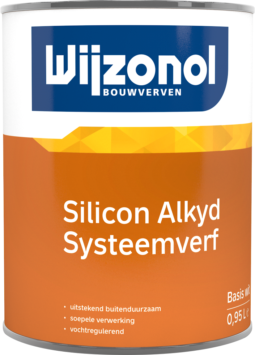 Wijzonol LBH Silicon Alkyd Systeemverf 0,5 Liter 100% Wit