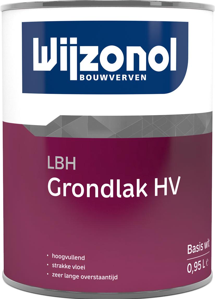 Wijzonol LBH Grondlak HV 1 Liter 100% Wit