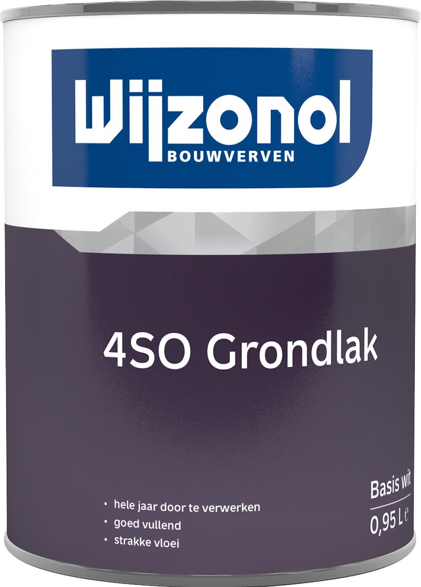 Wijzonol 4SO Grondlak 1 Liter 100% Wit