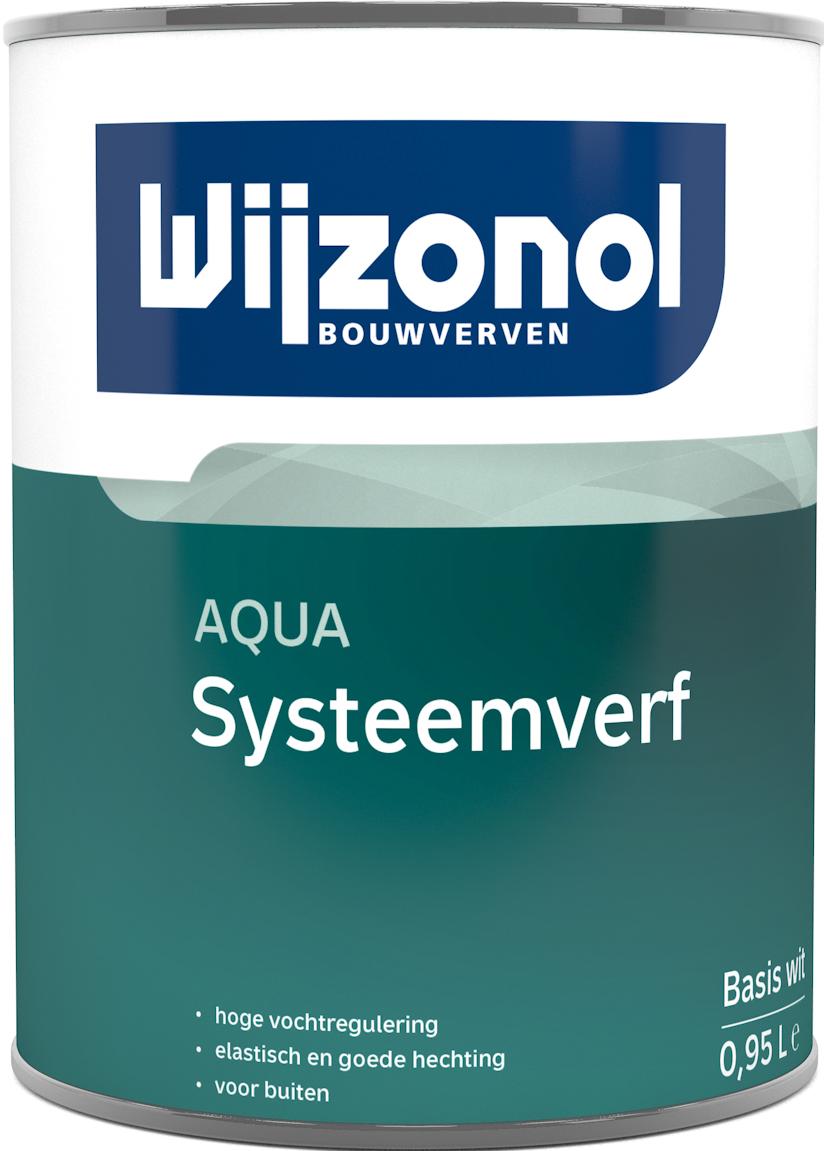 Wijzonol AQUA Systeemverf 1 Liter 100% Wit