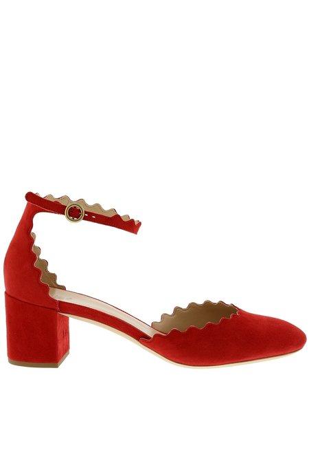 Chloe pumps CH29090 rood