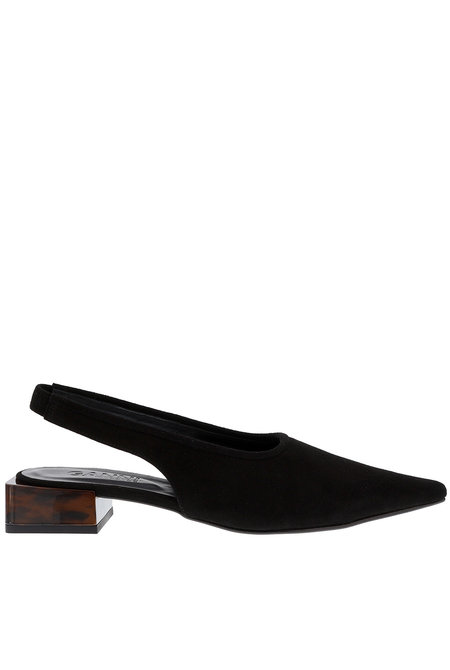Ganni ballerina S1024 zwart