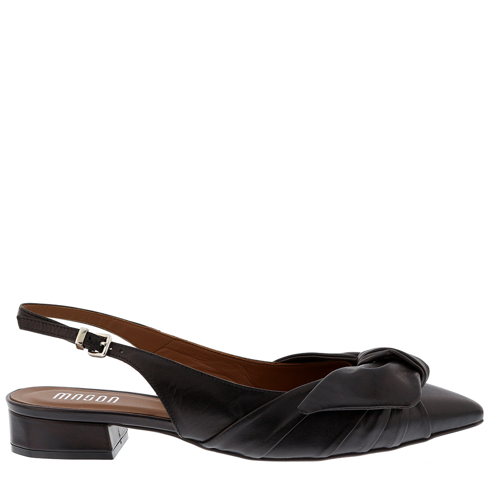 Collection by Marjon loafers 127 zwart