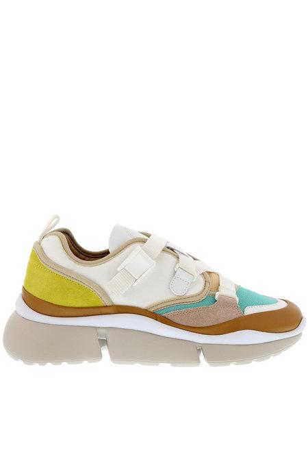 Chloe sneakers Sonnie wit