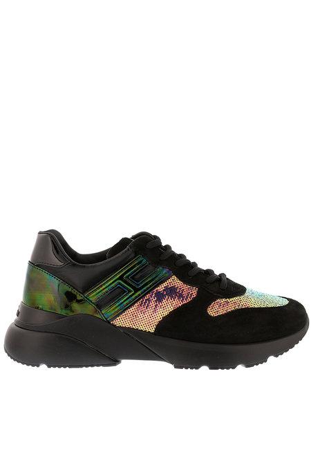 Hogan sneakers Active One HXW3850 zwart