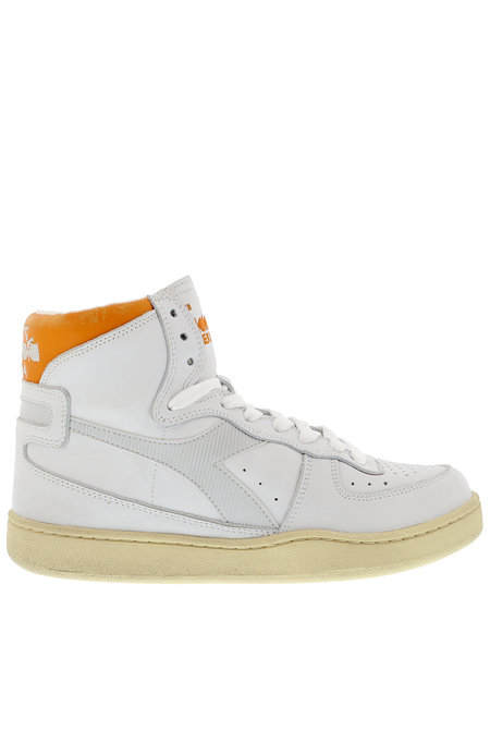 Diadora Heritage sneakers Mi basket Used wit-oranje