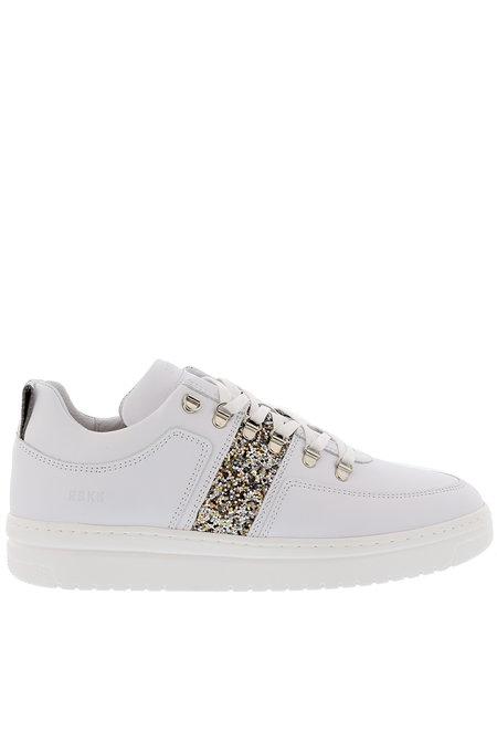 Nubikk sneakers Yeye Maze Glitter wit