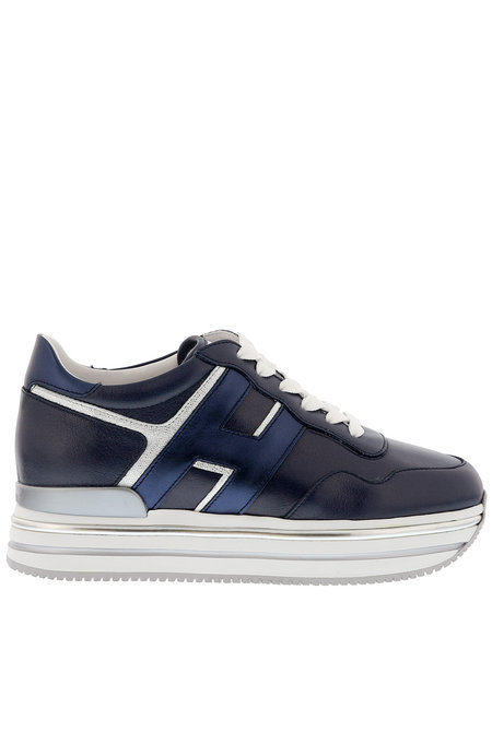 Hogan sneakers HXW4680 blauw
