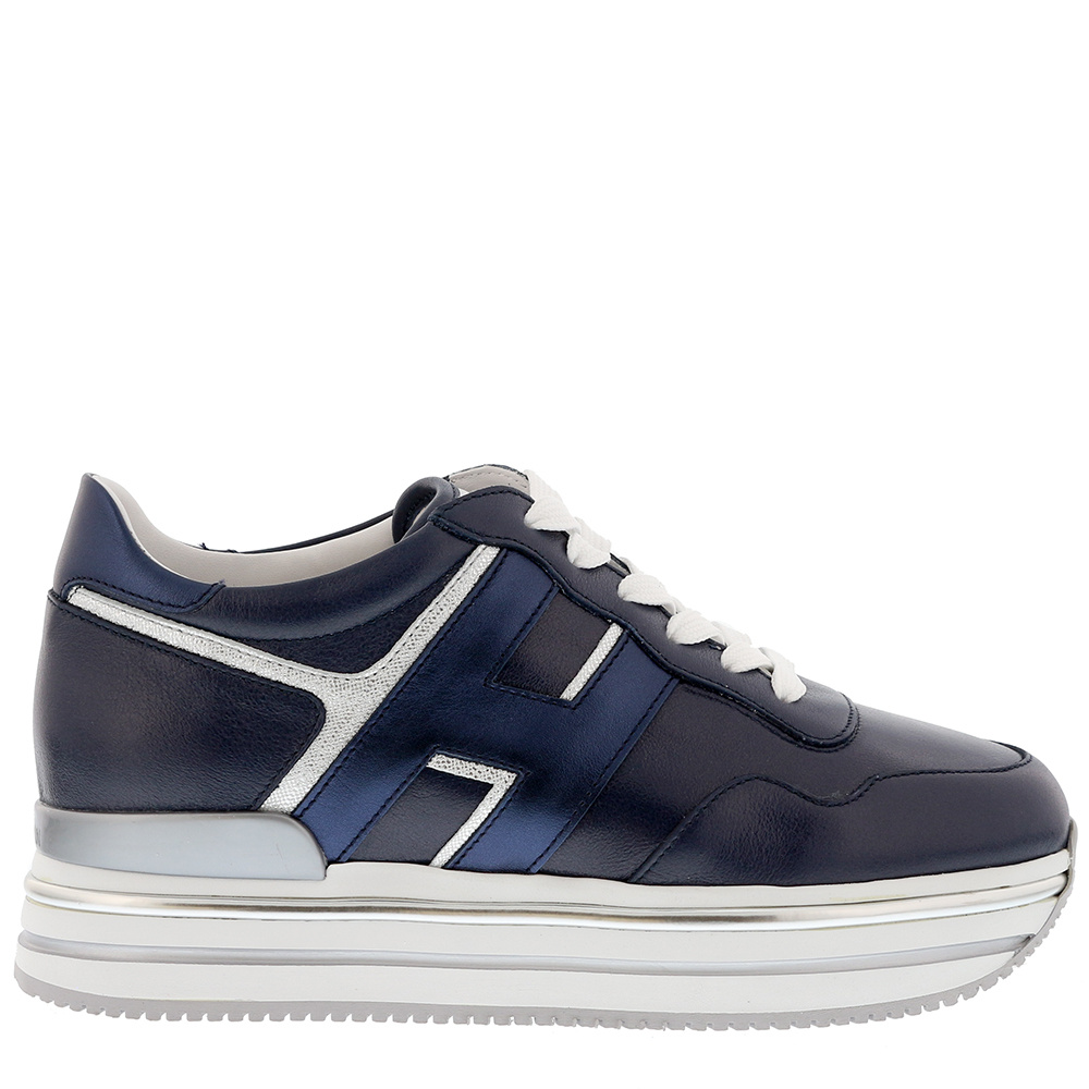 Hogan sneakers Midi Platform HXW4680CB81 blauw