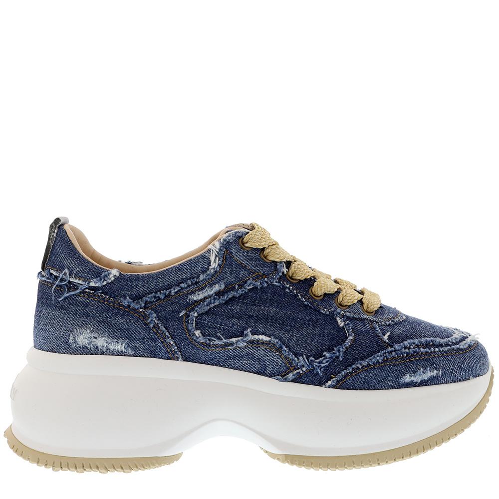 Hogan sneakers HXW4350BP20 blauw