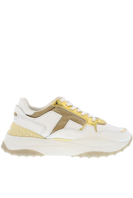 Tods sneakers wit-goud