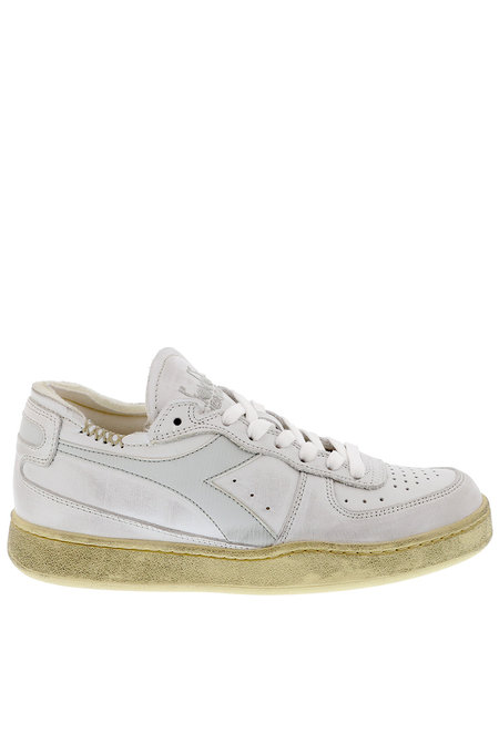Diadora Heritage sneakers Mi Basket Row Cut wit