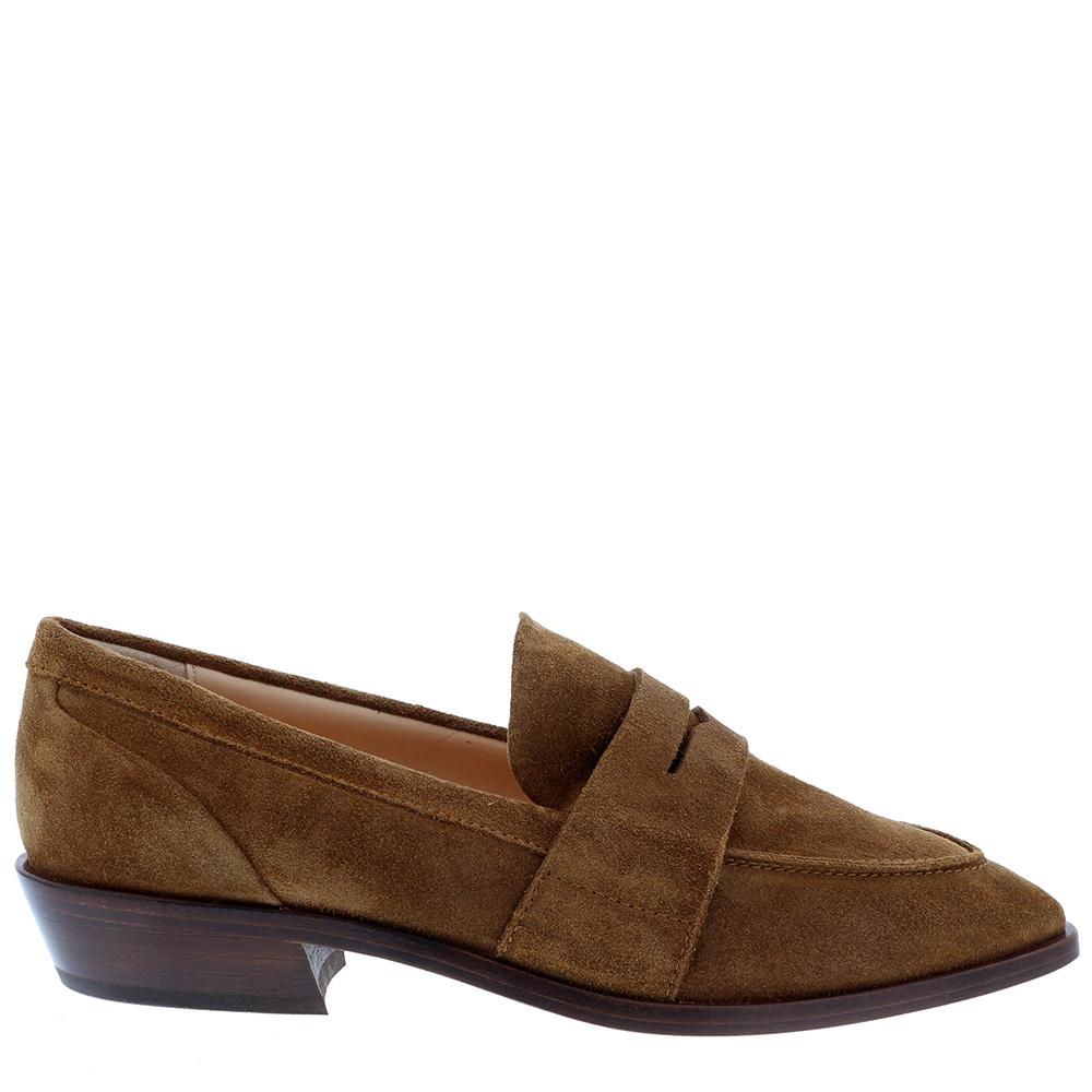 Attilio Giusti Leombruni loafers D530054 cognac