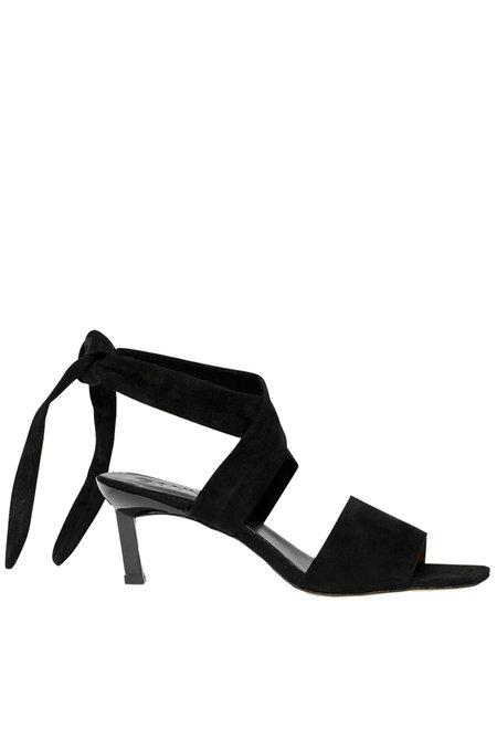 Ganni sandalen S1059 zwart