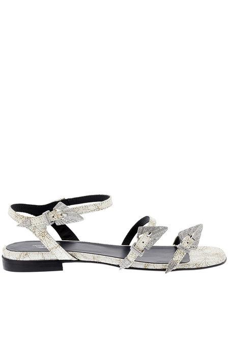 Zadig & Voltaire sandalen Paros Used wit