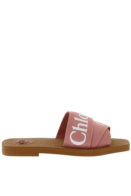 Chloe slippers Woody roze